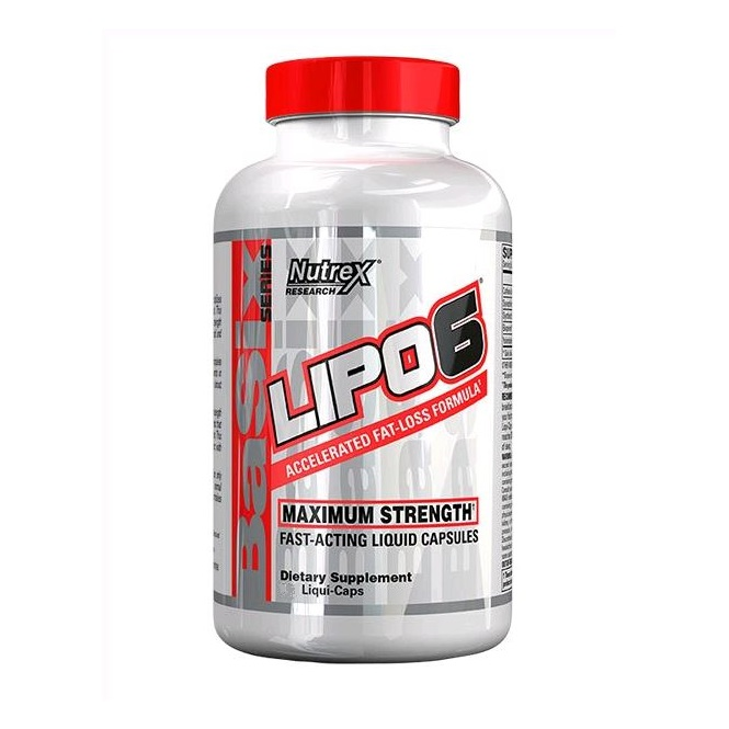 Lipo 6 Fast-Acting 120c (Nutrex)