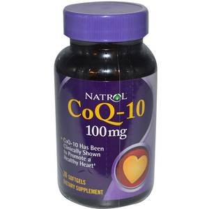 Co Q-10 100mg 60 softgels (Natrol)США