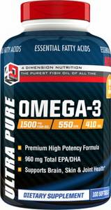 Ultra Pure Omega 3 100 softgel (4DN)