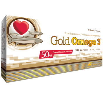 Gold Omega-3 1000mg 60cap (OLIMP)