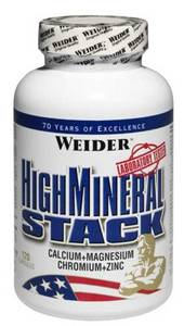 High Mineral Stack   NEW 120к (Weider)