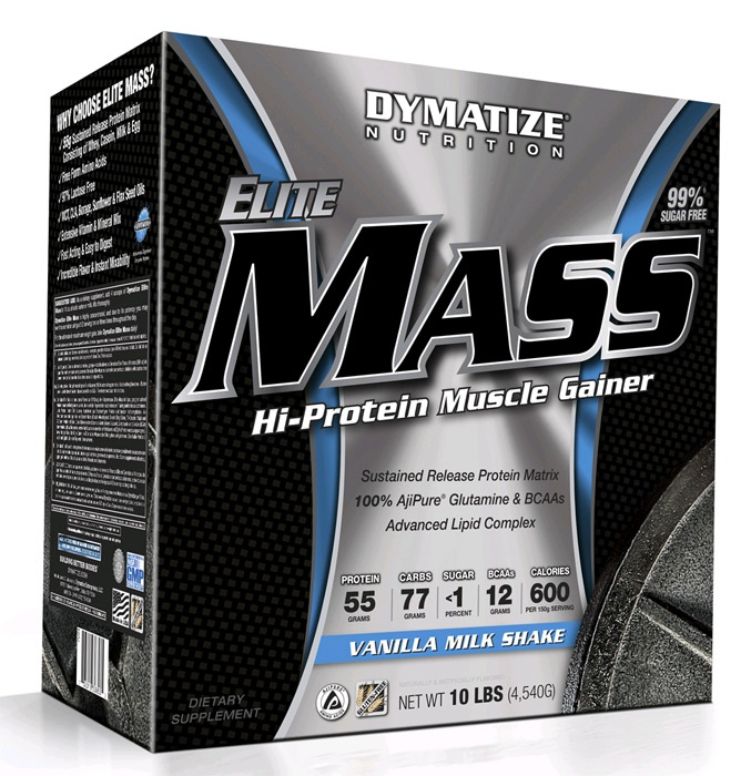 Elite Mass Gainer 4540g шоколад (DYM)