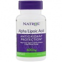 Alpha Lipoic Acid 600мг 30кап (Natrol) США