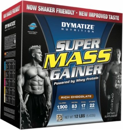 Super Mass Gainer 5,5кг ассорти  (DYM)США