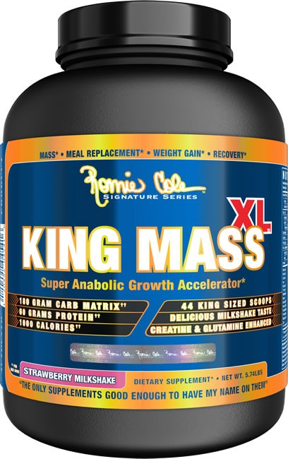 KING MASS XL 2,75кг ваниль (RC)США