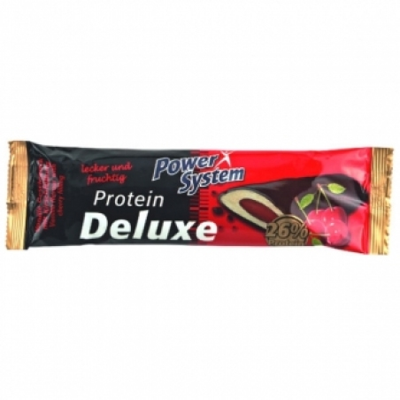 Protein Deluxe 45 гр вишня (Pow. Sys.)Германия