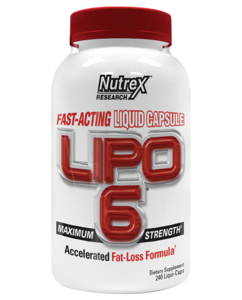 Lipo 6 Fast-Acting 240c (Nutrex)