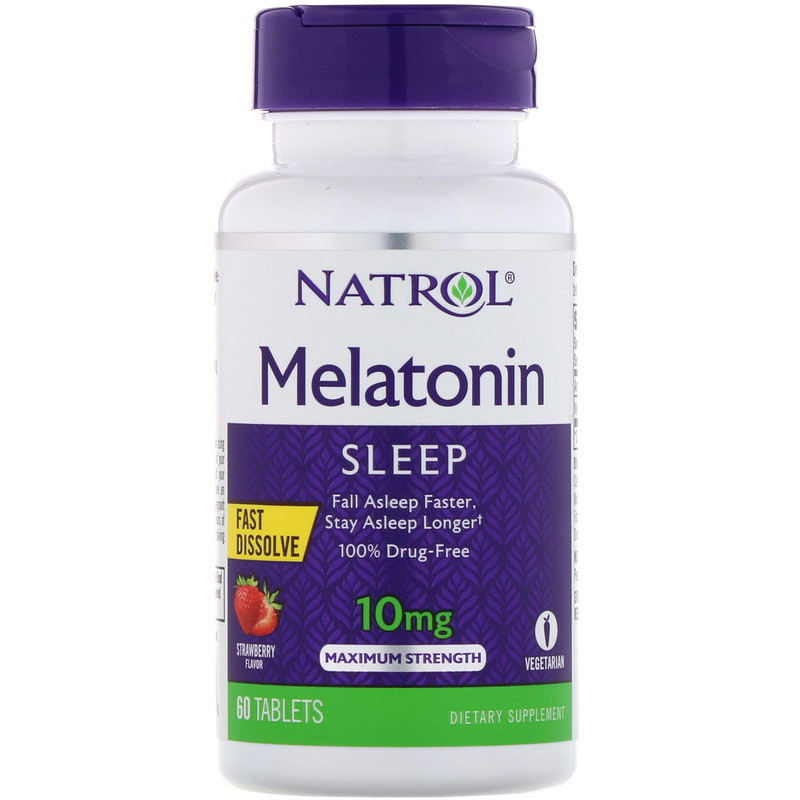 Melatonin Slow10mg 60 t (Natrol) США