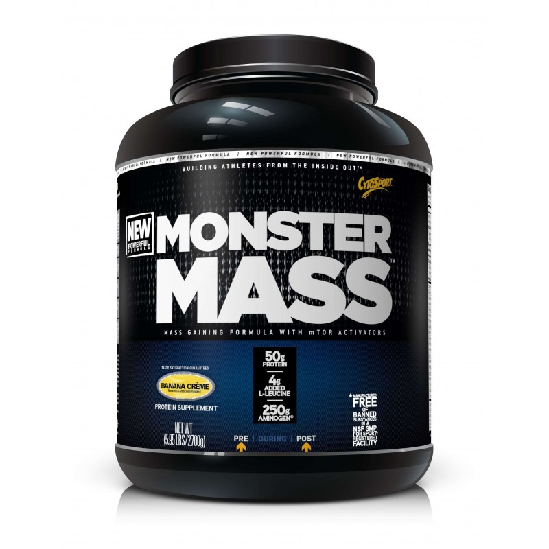Monster Mass 2.7kg шоколад (Cytosport)США