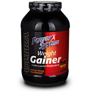 Weight Gainer 2кг шоколад мед  (Pow. Sys.)Германия