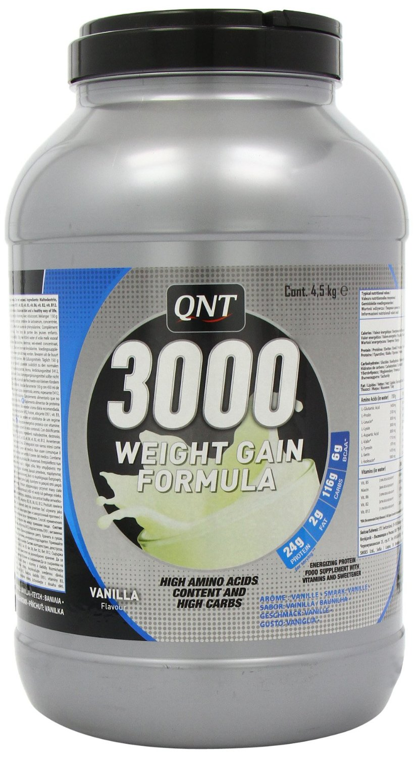 WEIGHT GAIN 3000 земляника 4500g (QNT)