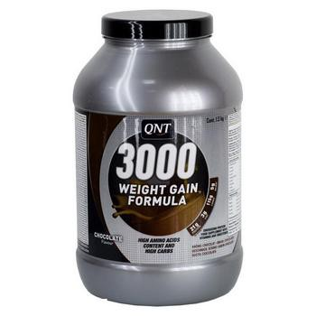 WEIGHT GAIN 3000 земляника 1300g (QNT)