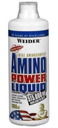Amino Power Liquid II 1л клюква (Weider)Германия