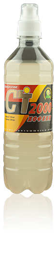 Fitness Drink CT2000 Кофеин, лайм-имбирь-мята-лемонграсс 0,5л