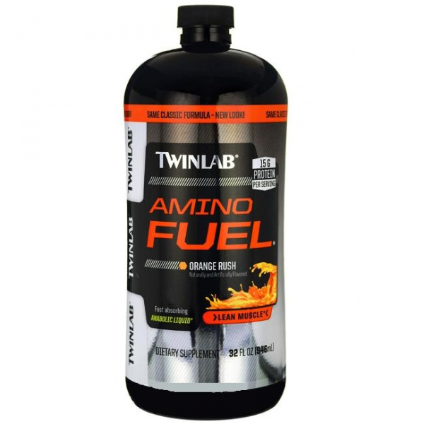 Amino Fuel Liquid 32 oz вишня (TWINLAB)США