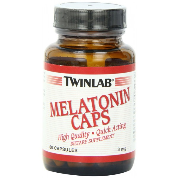 Melatonin 90 caps (TWINLAB)