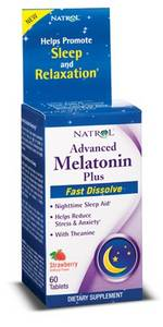 Melatonin Advaced CAlM Sleep 6mg 60 t (Natrol) США