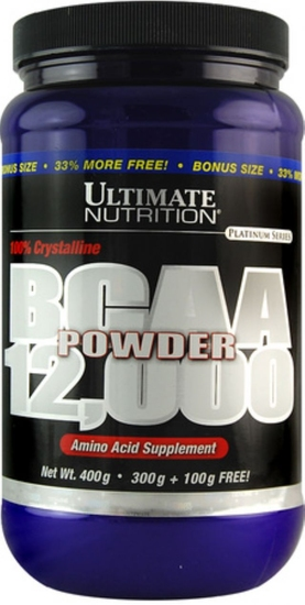BCAA 12000 powder 400г (ULTIMATE) США